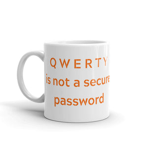 QWERTY Mug - Cybersecurity Awareness Products