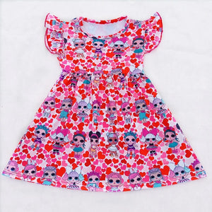 LOL Dolls Hearts Dress