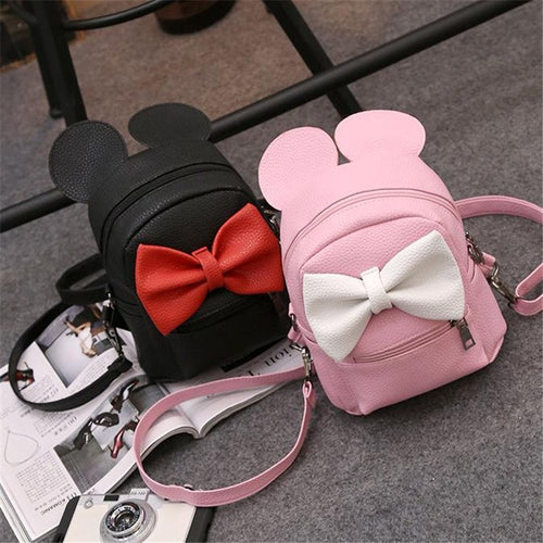 Bowknot style Mickey Backpack