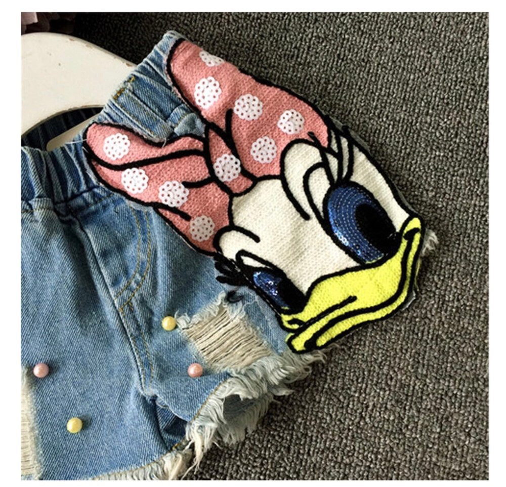 Daisy Duck Denim Shorts