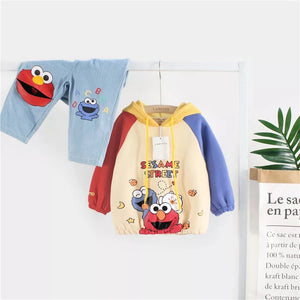 Elmo Hooded Pullover