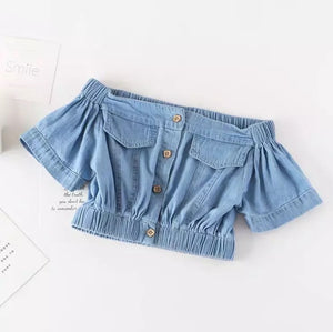 2 piece denim set