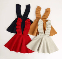 KNIT SUSPENDER SKIRT