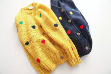 Hearts Knitted Cardigan
