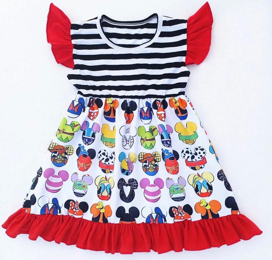 Mickey and Friends Face Dress