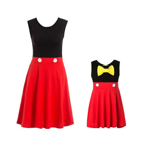 Mommy and Me Mickey Dresses