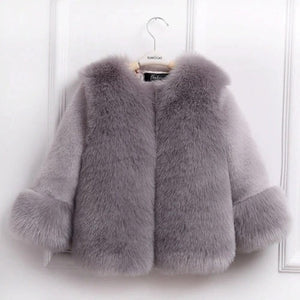 Victoria Faux Fur Coat