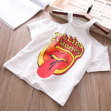 Off the shoulder Rolling Stones T-Shirt