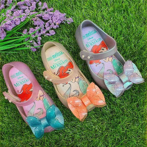 Ariel Mermaid Jelly Shoes