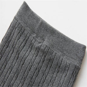Cable Knit Fleece Leggings