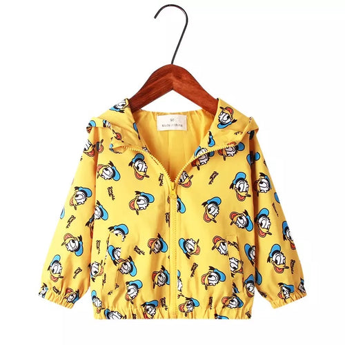 Donald Duck Lined Jacket