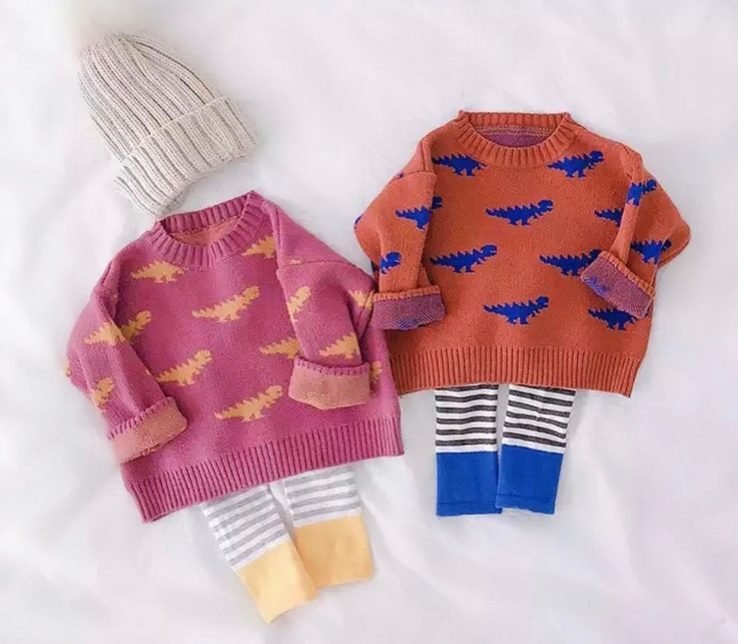 Dino Knit Sweater