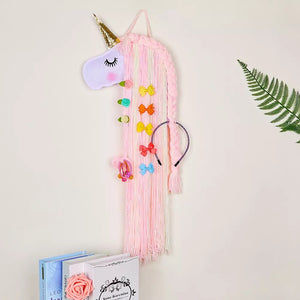 Rainbow Unicorn Bow Holder