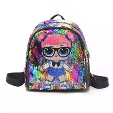 Lol surprise sequin Backpack