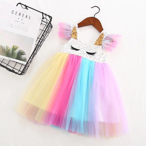 Unicorn Tulle Dress