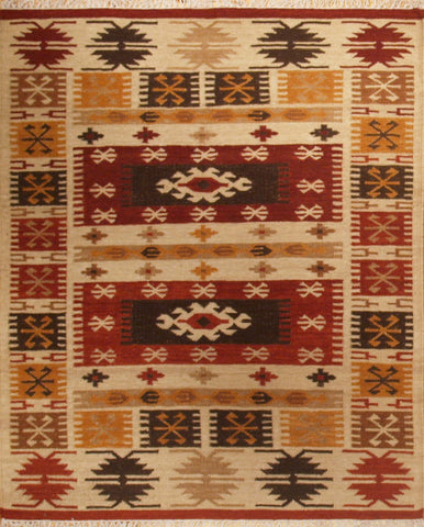 Picture of 4X6 KILIM MULTI wool