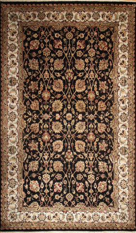 Picture of 4x6 Indo Persian Black/Beige