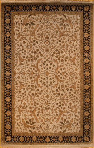 Picture of 4x6 Indo Persian Beige/Black