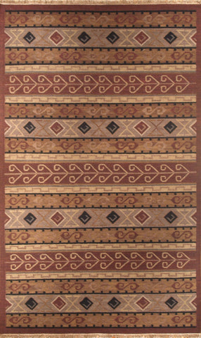 Picture of 6x9 KILIM Multi Wool