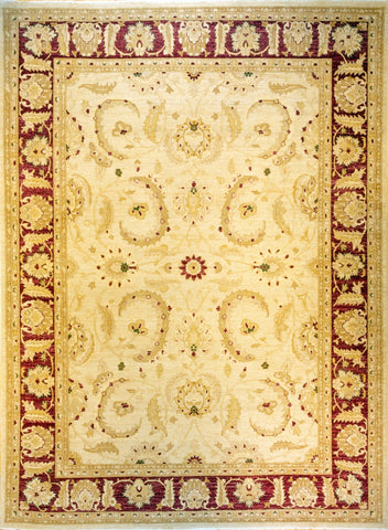 Picture of 6x9 chobi beige/red