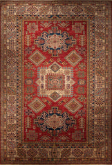 6x9 Kazak Red/Ivory
