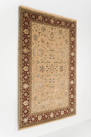Picture of 6x9 indo persian ivory/red