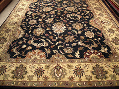 5x7 Indo Persian Black/Gold