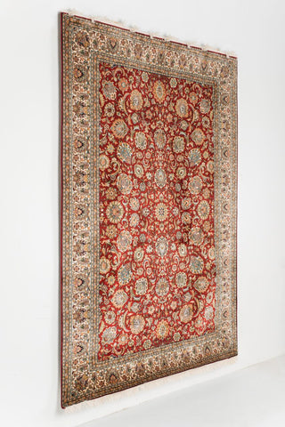 Picture of 6X9 KASHAN RED/IVORY