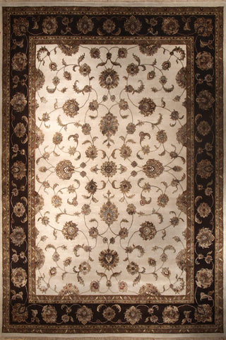 Picture of 6X9 Elegance Ivory/Brown