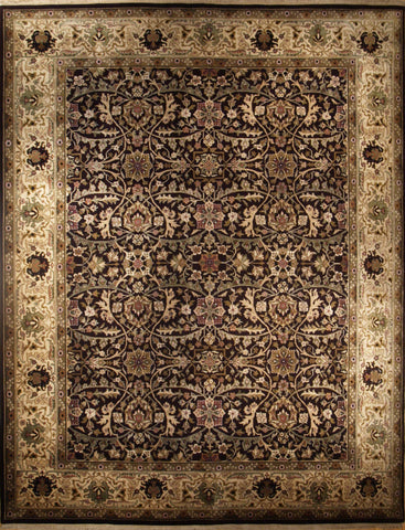 Picture of 8x10 Indo Persian Eggplant/Beige