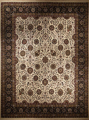 8x10 Indo Persian Beige/Black