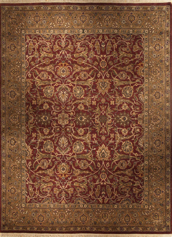 Picture of 8x10 Kashan Red/Gold