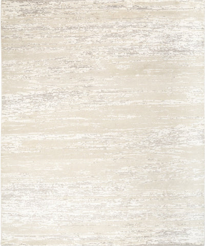 Picture of *NEW: 8x10 Marble Ivory/Grey Wool and Bamboo Silk