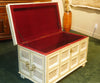 Big White Bone Inlay Chest