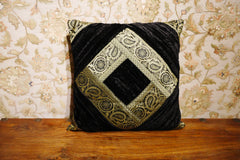 Black Velvet Cushion Cover