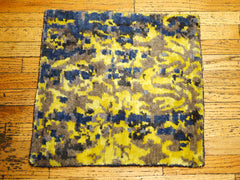 Blue/ Yellow Sample Rug