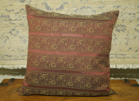 Picture of Burgundy Polyester Cushion