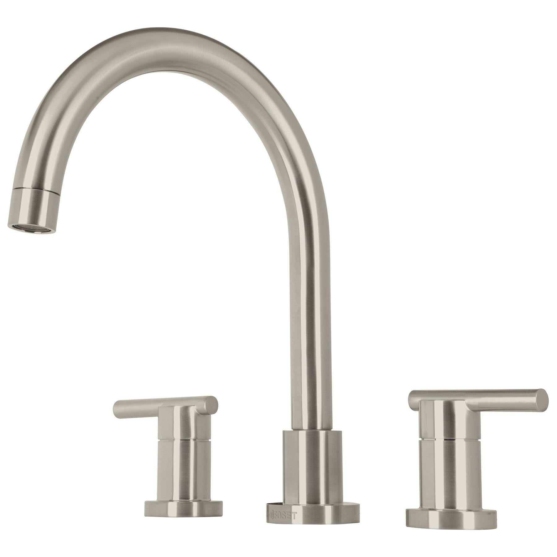 MEZCLADORA FOSET ELEMENT ELF-81N SATIN P/FREGADERO