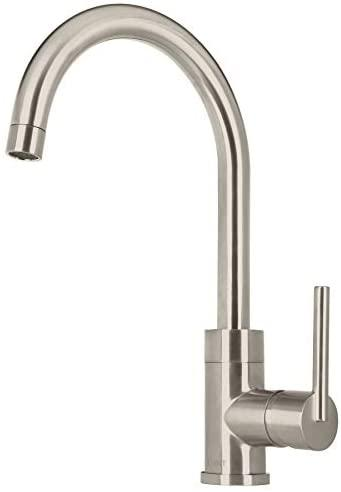 MEZCLADORA FOSET ELEMENT ELF-83N SATIN P/FREGADERO