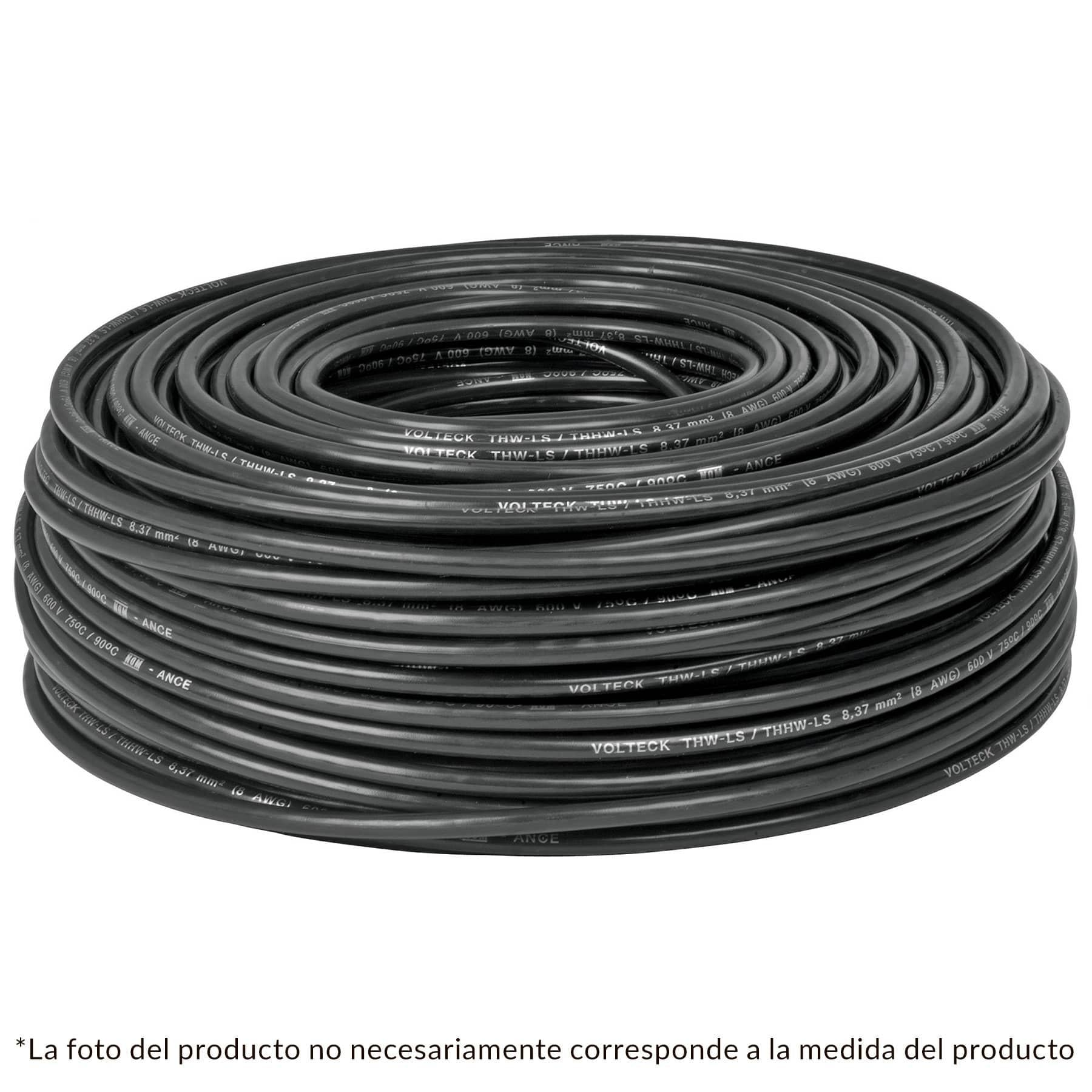 CABLE TWH NO 14 NEGRO C/100 MTS.