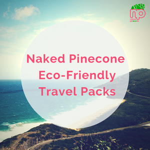 Introducing the Naked Pinecone Eco-Friendly Travel Packs