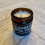 Run with Wolves - Vegan Soy Candles - BLACK MOON