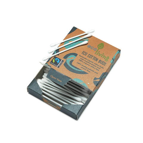 Eco Living - Organic Fairtrade Cotton Buds