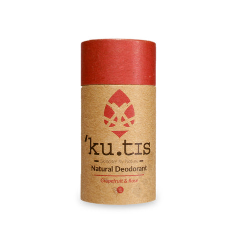 Kutis Skincare - Natural Deodorant - Rose & Grapefruit
