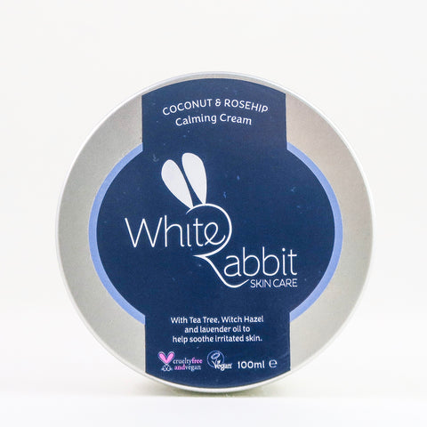 White Rabbit - Coconut & Rosehip Calming Cream