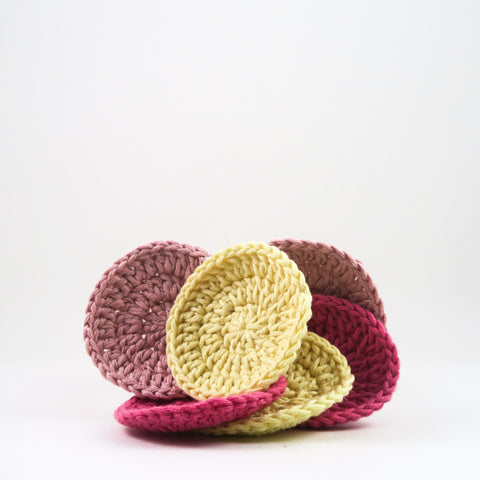 Dina's Handmade Organic Cotton Scrubbies