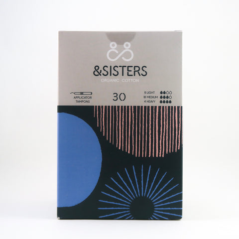 &Sisters - Organic Cotton Tampons - Mixed Pack