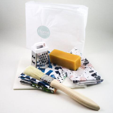 Homa London DIY Beeswax Wraps