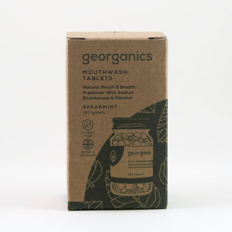 Georganics - Mouthwash Tablets - Spearmint