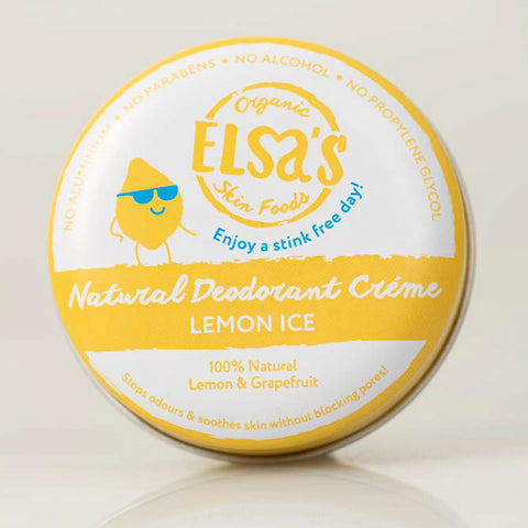 Elsa's Natural Deodorant Mini's - Lemon Ice - Naked Pinecone